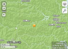 Earthquakes Hit Oklahoma, Felt In Arkansas   10.10.14  (KFSM) - Oklahoma sawa total of six earthquakes on Friday (Oct. 10),with one of the largest being a 4.3 magnitude quake west of Tulsa, officials say. That earthquake hit approximately a mile sout...