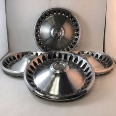 These are from the Barracuda, and passenger cars. Plymouth Barracuda, Hub Caps, Oem, Type, Cars, Ebay, Autos, Automobile, Car