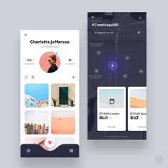 Design by Faria ✨ Get Inspired daily! ✨ — Follow along at @design.bot. — Get featured! Tag your work with #designbot