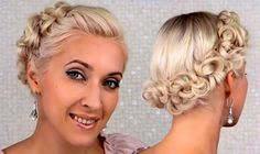 Wedding Updo Tutorial for Medium Hair  #hairstyles #weddinghairstyles #bridalhairstyles