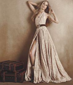Fabulous Ralph Lauren fold gown | Just a pretty dress