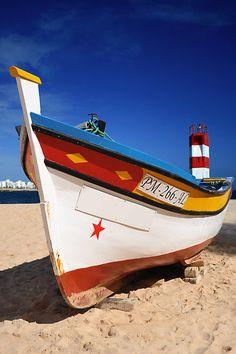portuguese boats Costa de Prata