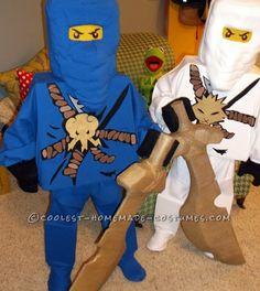Totally DIY LEGO Ninjago Couple Costume...