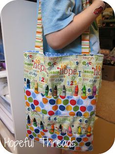 Hopeful Threads: Give Hope - Busy Bags (Idea for foster care kids)