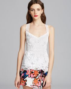 Nanette Lepore Top - Conga Lace | Bloomingdale's