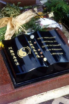 The grave of Bruce Lee
