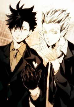 Kuroo & Bokuto   Haikyuu!! #anime