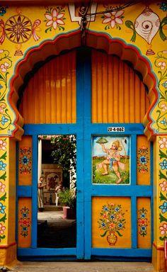 Colorful Doors ~ Hyderabad, Telangana, India
