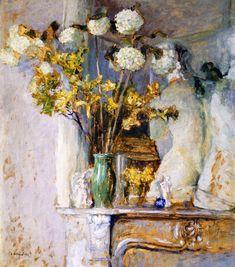 Guilder Roses and the Venus de Milo (Edouard Vuillard - 1905)