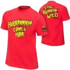 WWE Hulk Hogan Hulkamania Comes Home T-Shirt