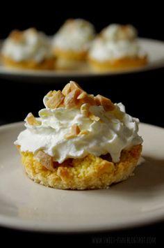 Kruche babeczki z masłem orzechowym z bloga Słodkie Przyjemności