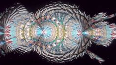 Glass tile Kaleidoscope  万華鏡「グラス・タイル」