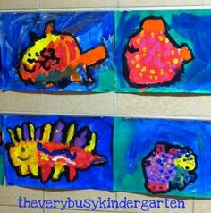 The Very Busy Kindergarten: All About Fish