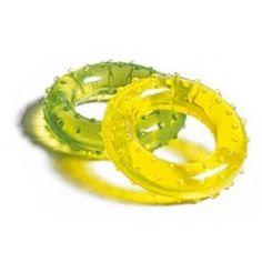 Zabawki sensoryczne - akcesoria sensoryczne - integracja sensoryczna- Krążek do rehabilitacji dłoni - twardy Onion Rings, Garden Hose, Ethnic Recipes, Onion Strings