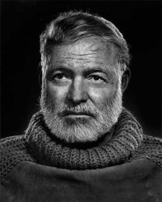 Ernest Hemingway, 1957 Photographer Yousuf Karsh captured portraits of everyone from Albert Einstein to Martin Luther King during his career – as well as some of the century's greatest artists, musicians and actors.