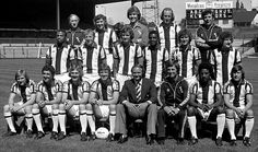 1978/79 First Division West Bromwich Albion Top row: GEORGE WRIGHT Physiotherapist. PADDY MULLIGAN,TONY GODDEN, WAYNE HUGHES, BRIAN WHITEHOUSE Coach.  Middle row:  CYRILLE REGIS, MICK MARTIN, ALISTAIR BROWN, LAURIE CUNNINGHAM, BRYAN ROBSON, TONY BROWN Front Row: DEREK STATHAM, JOHN TREWICK, ALASTAIR ROBERTSON, JOHN WILE, RON ATKINSON Manager, COLIN ADDISON, BRENDON BATSON, WILLIE JOHNSTON