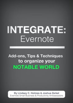 using 3rd party apps with evernote