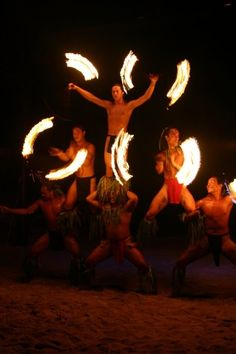 Tahitian Fire Dance