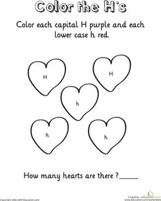 Letter H worksheets help kids learn a new letter and early reading skills. Browse our collection of alphabet worksheets, including letter H worksheets. Pre K Activities, Alphabet Activities, Reading Activities, Reading Skills, Letter H Worksheets, Free Printable Worksheets, Letter H Crafts, Abc Tracing, Preschool Writing