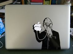 stealatimelord:  THIS IS AMAZING! If I got one of these decals, I would just have to name him Mr. MacOod. And my laptop from forever onwar...