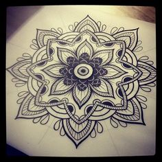 Mandalas Mandala design and Mandala tattoo on Pinterest
