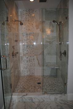 Calacatta Gold Marble Bathroom Project | Architectural Ceramics