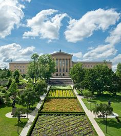 The Philadelphia Art Museum, one of the best museums in the US!!! Go visit!!!