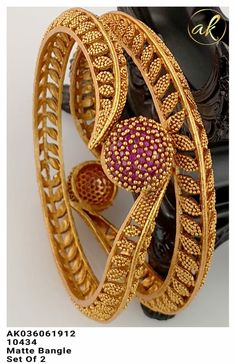 Gold Chain Design, Gold Bangles Design, Gold Jewellery Design, Jewelry Design Earrings, Gold Earrings Designs, Gold Bangles For Women, Gold Temple Jewellery, Gold Mangalsutra Designs, Gold Jewelry Simple