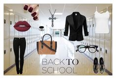 """""""first day at school"""" by roomnumbersix on Polyvore featuring мода, MM6 Maison Margiela, Dorothy Perkins, Vans, Victoria Kay, West Coast Jewelry и Lime Crime"""