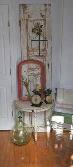 VINTAGE DOOR repurposed by alexandria