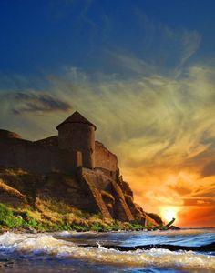 Castle in Bilhorod-Dnistrovsky, Ukraine...fun to climb the walls:P