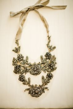 Statement Necklace  Vintage sparkle