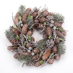 Small Pinecone Wreath By Heaven Sends