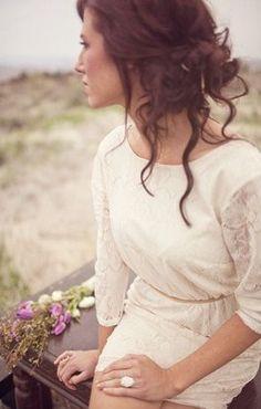 Bohemian Updo--loose and relaxed (Krista?) @Krista McNamara McNamara McNamara Catalano do you like?