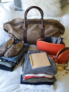 Weekend packing list