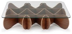 Matrix Table by Andrew Tye for E - contemporary - coffee tables - Generate Design - definitely could be cardboard