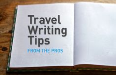 Guide to travel writing by Don George