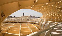De paseo por Sevilla - Plaza de la Encarnación - Setas - Metrosol Parasol -Seville