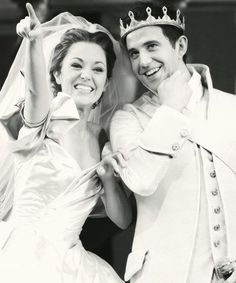 Laura Osnes and Santino Fontana