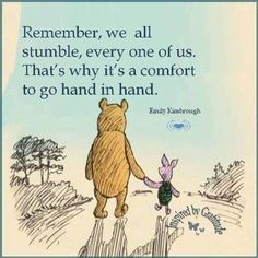 the Pooh in hand - Trend Boyfriend Quotes 2020 Quotable Quotes, Book Quotes, Words Quotes, Girl Quotes, Sayings, Cute Winnie The Pooh, Winnie The Pooh Friends, Pooh And Piglet Quotes, Short Friendship Quotes