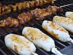 Grilled Rice Sticks to BBQ - theMatchaGreen Vegetarian Ramen, Vegetarian Recipes, Food L, Cooking Classes, Tandoori Chicken, Food Print, Noodles, Sticks, Dairy Free