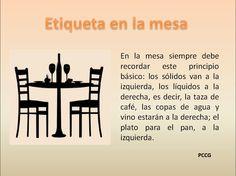 ⚜ Buenos modales / Etiqueta