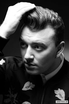 Sam Smith truly has the BEST hair!