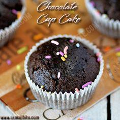 Eggless Chocolate Cupcakes Recipe :https://asmallbite.com/eggless-chocolate-cupcakes-recipe/