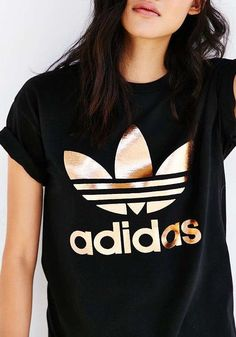 Rose Gold Adidas || via Urban Outfitters