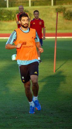 Albiol en Las Rozas en 2014 #seleccionespanola #LaRoja #diariodelaroja