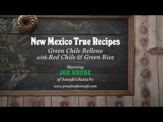 Try it New Mexican Style - Chef Joseph Wrede's Chile Rellenos. Scroll way down - the recipes are there as well as a link to his instructional video