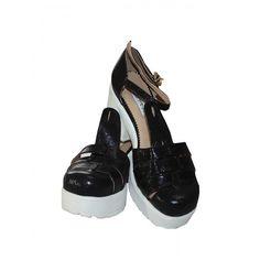 Seri Sonu Siyah Bayan Ayakkabı - 25.42 TL + KDV