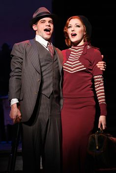 Jeremy Jordan & Laura Osnes in the Broadway Musical Bonnie & Clyde. Bonnie And Clyde Musical, Bonnie And Clyde Photos, Bonnie Clyde, Musical Theatre Auditions, Broadway Theatre, Broadway Plays, Bonnie Parker, Theatre Nerds, Theater