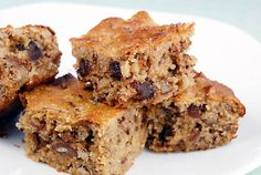 These healthy, high protein, gluten-free and grain-free Date Walnut Bars are a nice alternative to the more indulgent type of dessert bar.